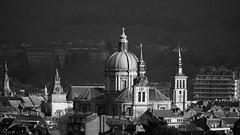 Monochrome Cathédrale de Namur (Yasmine Hens +4 400 000 thx❀) Tags: monochrome 7dwf cathédrale church cathédraledenamur belgium hensyasmine bw blackandwhite