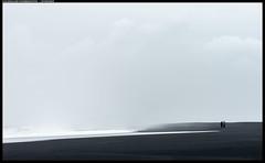 Reynisfjara, Black Sand Beach (oymehus) Tags: folk fototype genre landskap mennesker monotont people roller sand sjanger svart turister southernregion iceland