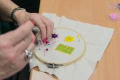 DSC_0714 (surreyadultlearning) Tags: embroidery sewing adulteducation surrey camberley art craft tutor uk painting calligraphy photography