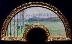 impressions (1) (canecrabe) Tags: éventail pontoise gouache tissu camillepissarro vache paysage impression impressionisme vente enchère drouot