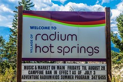 Welcome to Radium Hot Springs!