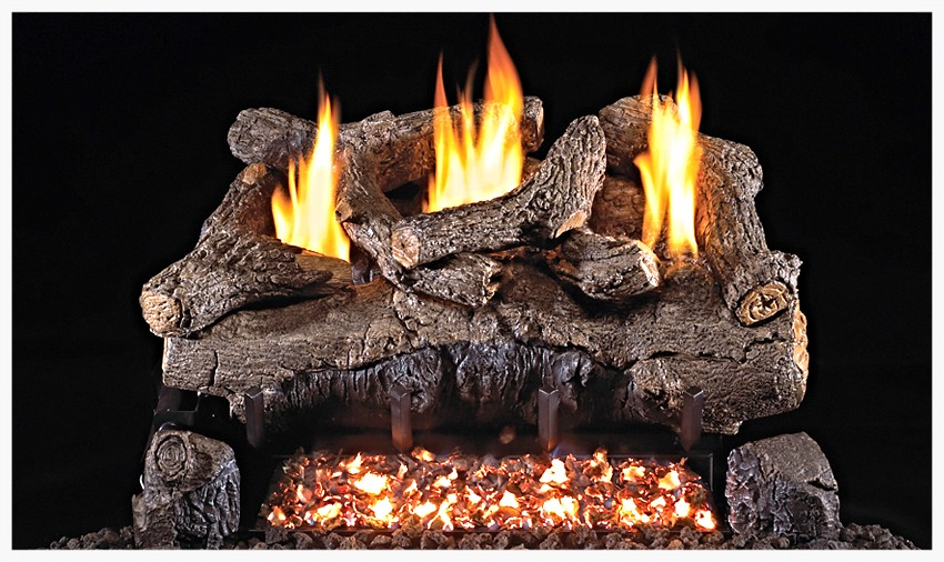 Real Fyre G-18 Unvented Evening Fyre Gas Log Set