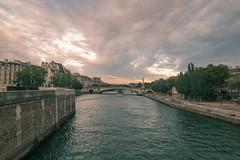 Pont de Tournelle depuis le pont de l'Archevch - Paris (marysaesteban) Tags: bridge paris france rio seine river puente pont francia fleuve sena