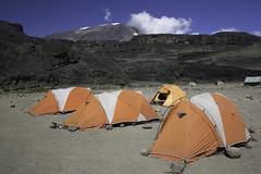 Moir Hut Camp (Phil Watkins Online) Tags: camp mountain kilimanjaro hut moir 2015 hardwear mountainhardwear lemosho moirhut lemoshoroute
