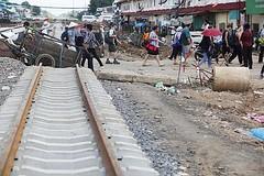 Thailand - Ban Khlong Luek - The Cambodian boarder (railasia) Tags: thailand construction infra reproduction srt 2014 sakaeo metergauge bankhlongluek