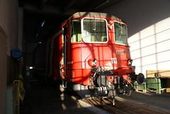 2010-02-07, CROSS/CFF, Depot Brig (Fototak) Tags: train switzerland eisenbahn railway locomotive treno valais 113 crossrail elok re436 re44iii 436113
