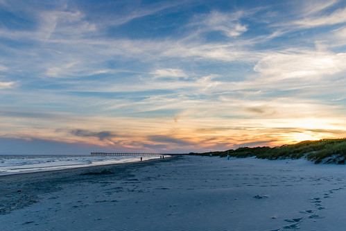 Sunset at Sunset Beach, North Carolina