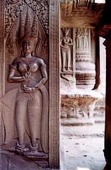 Hindu skills (stereoo) Tags: film temple nikon cambodia angkorwat hindu