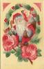 Antique Christmas Postcard - Santa with American Flag (Brynn Thorssen) Tags: santa christmas xmas red holiday snow green vintage gold antique holly postcards yule fatherchristmas santaclaus merrychristmas santaklaus happynewyear happychristmas yuletide oldsaintnick срождеством срождествомхристовым