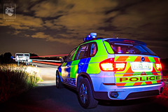 X5 Patrol (mspbusy) Tags: car night clouds waiting nightlights watching bmw vehicle lighttrails patrol x5 rpu merseysidepolice northwestmotorwaypolicegroup nwmpg