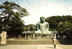 Kōtoku-in Buddhist Temple (Cragin Spring) Tags: statue japan bronze temple buddhist kamakura buddhism amidabuddha kōtokuin greatbuddhaofkamakura