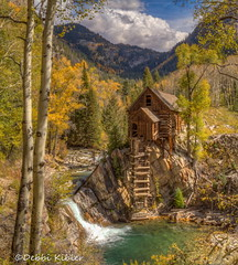October 1, 2015 - Crystal Mill looks respeldent in fall colors. (Debbi Kibler)