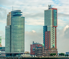 Rotterdam Hotel New York (peterpj) Tags: hotel rotterdam nikon hotelnewyork d800 hollandamerikalijn colorefexpro nikonsigma