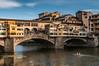 Ponte Vecchio (edelweisskoenig) Tags: eu europe europa italy italien tuskany toskana florence florenz pontevecchio bridge brücke nikon nikkor dx d300 river fluss arno boat boot rowing rudern ruderer 35mm 35mmf18g travel reisen vacation water wasser aqua