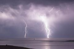 Bright on Board (Jason Whittle XsLight Photography) Tags: longexposure storm night clouds sticks nightlights stormy nightsky lightning longexposer portlincoln lightningstorm eyrepeninsula stormycloud australianstorms lightningnightshot
