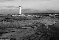 Wirrel Photography workshop (3 of 35) (andyyoung37) Tags: sea seaside waves bluesky lighhouse newbrighton perchrocklighthouse