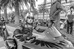 SKELETON (Luis Alvarez Marra) Tags: street portrait bw spain nikon outdoor candid catalonia harley tokina moto salou 1116 streetphotogaphy d7000 tokina111628