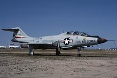 57-0370.DMA1982copy (MarkP51) Tags: arizona plane airplane aircraft aviation military kodachrome usaf voodoo dma mcdonnell davismonthanafb kdma masdc aviationphotography theboneyard f101b 570370 markp51