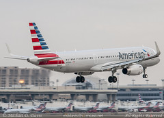 American Airlines Airbus A321-231 (N145AN) (Michael Davis Photography) Tags: airplane photography dallas aviation flight jet terminal landing airbus dfw arrival americanairlines runway aa airliner jetliner a321 dallastexas kdfw n145an