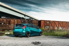 Cinemotive Media SEMA Ford Fiesta ST ADV5 Track Spec (ADV1WHEELS) Tags: street bronze wheels deep cobb rims luxury spec forged stainless concave stance oem matteblack 3piece 1piece tjin adv1 forgedwheels deepconcave manbronze advone advancedone