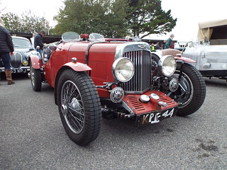 1934 Aston Martin mk.II Long Chassis 2-seater Sports