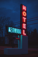 Vacancy (Capturing life one frame at a time) Tags: overcast motel neonglow nikkor50mm14 nikond750