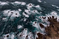 _4LN1986-Pointe de Pern (Brestitude) Tags: sea mer lighthouse france brittany waves bretagne aerial breizh vagues phare finistère ouessant aérien iroise ushant nividic nividig brestitude ©laurentnevo2015
