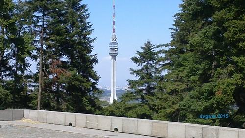 Avala Tower, Avala mountain near Belgrade, Serbia, August 2015; Avalski toranj, Beograd, Srbija, avgust 2015 godine
