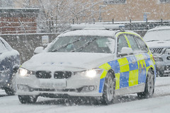 ❄❄ Merry Christmas and a Happy New Year ❄❄ (S11 AUN) Tags: christmas xmas winter car seasons durham traffic police card bmw greetings roads emergency touring unit 999 3series rpu 2015 constabulary policing 330d xdrive anpr nl63xef