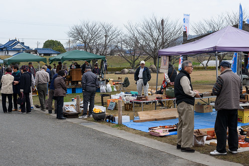 Antique and Flea Market in Oishi-jinja shrine [ Ako-shi, Hyogo, JP ] | 兵庫県赤穂市 大石神社 骨董市