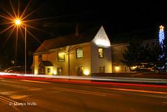 Day 330-365 (Herb287) Tags: nightphotography night star inn nikon christmastree 365 essex starburst boreham chelmsford mainroad traffictrails publichouse d60 day330 thelion unlimitedphotos day330365 365the2015edition 3652015 26nov15