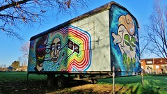 Huascaya / Pinguinstraat - 9 dec 2015 (Ferdinand 'Ferre' Feys) Tags: streetart graffiti belgium belgique belgië urbanart graff ghent gent gand graffitiart arteurbano artdelarue urbanarte huascaya