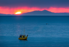 Sunset at Altitude (Nomadic Vision Photography) Tags: sunset laketiticaca southamerica native traditional bolivia andes reedboat jonreid nomadicvision
