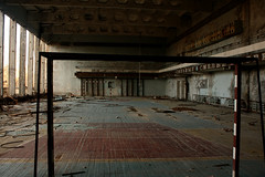 chernobyl Gym (Jackrennison) Tags: abandoned ukraine deserted decaying chernobyl urbex pripyat