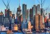 Midtown Manhattan Skyline (Vintus Okonkwo fotografi) Tags: midtown manhattan skyline sunset newyork hdr