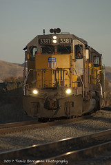 Ballast train at El Casco, CA (Travis Berryman) Tags: unionpacific beaumonthill uprr upyumasub desertrailroading