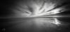 Clouds over Skagen (ShimmeringGrains.com) Tags: 120film 6x12 blackandwhite kodakhc110 kodaktmx kodaktmx100 skagen skagensgren zeroimage analog bw film mediumformat mellanformat ocean panoramic pinhole pinholephotography scannad scanned sea seascape svartvitt clouds denmark kodakhc110b sky monochrome ©marieahlén 24112016 z612f25 zero612f