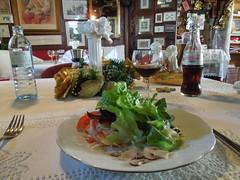 Gemischter Salat @Zum Franzl Ulm (conticium) Tags: zumfranzlulm zumfranzl zum franzl ulm österreicher restaurant lunch mittag mittagstisch söflingen