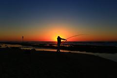 Fishing at sunset - Tel-Aviv beach (Lior. L) Tags: fishingatsunsettelavivbeach fishingatsunset telaviv beach fishing sunset sea seascapes silhouettes travel travelinisrael israel telavivbeach action wideangle ultrawideangle landscape sky