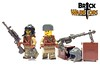 Dec 2016 - WW2 Soviet Tanker (BrickWarriors - Ryan) Tags: brickwarriors custom lego minifigure weapons helmets armor ww2 soviet ussr tanker guns rifle anti tank moscow russia ushanka semi auto pistol military war world