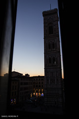 Just for the curious (Daniel Moreira) Tags: firenze florence florença toscana tuscany italia italy itália giottos bell tower attedrale di santa maria del fiore dusk lusco fusco
