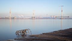 Mersey Gateway Construction (Tim Furfie) Tags: river mersey long exposure lee filter big stopper water gateway runcorn widnes