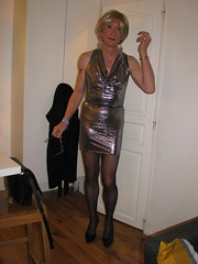(2017-01-18)Paris 002 (magda-liebe) Tags: paris french shoes highheels outgoing minidress stockings tgirl genderfluid