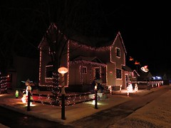 Northpole home at Christmas (jgagnon63@yahoo.com) Tags: northpole home christmas christmaslights christmasdecorations holidayhomes escanaba december nightphotography deltacountymi upperpeninsula uppermichigan michigan