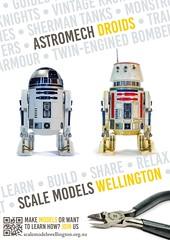 Scale Models Wellington - Astromech Droids