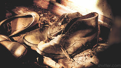 Boots (#Weybridge Photographer) Tags: canon eos slr dslr 40d adobe lightroom chernobyl pripyat ukraine nuclear exclusion zone boot boots shoe shoes foorwear chornobyl