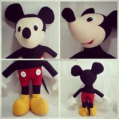 Mickey (mfuxiqueira) Tags: mickey minnie feltro disney personagensdisney festamickey felt decoraçãofesta