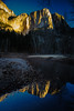 dawn - Yosemite Falls - Yosemite National Park - 2-17-15  04a (Tucapel) Tags: yosemitefalls yosemitenationalpark yosemite california reflection water dawn