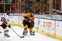 "Missouri Mavericks vs. Quad City Mallards, December 31, 2016, Silverstein Eye Centers Arena, Independence, Missouri.  Photo: John Howe / Howe Creative Photography • <a style=""font-size:0.8em;"" href=""http://www.flickr.com/photos/134016632@N02/31972645351/"" target=""_blank"">View on Flickr</a>"