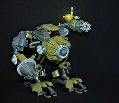 MK-241 (adde51) Tags: adde51 lego moc mech mecha military green robot walker mk241 war droneuary